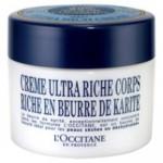 L'Occitane Crème Corporal Ultra Hidratante Karité (US$ 39,00 / R$ 149,00)
