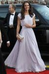 Kate Middleton, de Alexander McQueen